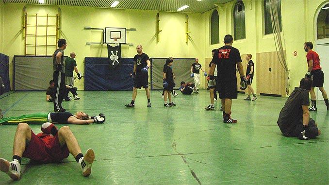 Boxtraining FC St. Pauli 2008